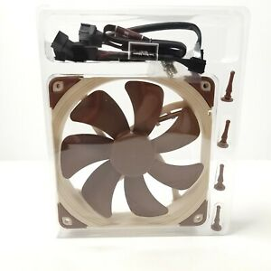 Noctua NF-A14 PWM 1500RPM 140MM Case Cooling Fan 4-pin Connector *Read*