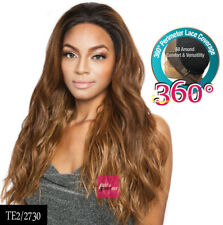 BS3602 VINE - MANE CONCEPT ISIS BROWN SUGAR 360 LACE WIG HUMAN HAIR STYLE MIX
