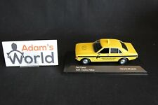 Vanguards Ford Consul 1:43 Taxi Swift Yellow Cars Leicester, yellow (JMR)