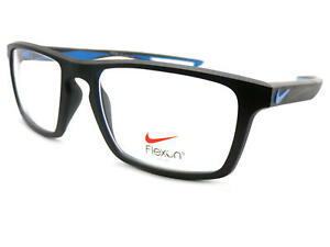 NIKE Glasses Frame Matte Black / Photo Blue 4280 016