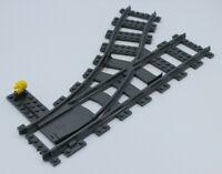 LEGO City Eisenbahn- Weiche links verstellbar aus Set 60198 (60098) - NEU