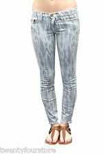 Current Elliott Jeans The Stiletto Skinny Leg in Sky Blue Aztec Chevron Print 29