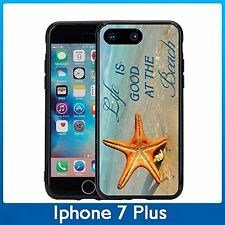 Beach Life Is Good With Star Fish For Iphone 7 Plus & Iphone 8 Plus (5.5) Case