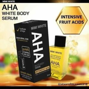 3 x Aha Body  Serum Intensive Whitening, Bleaching, Remove Dark Spots. A Class