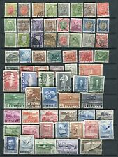 Iceland GREAT Lot of Used Stamps 1902-1970 - FREE SHIPPING