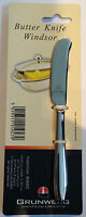 GRUNWERG WINDSOR  STAINLESS STEEL BUTTER SPREADING KNIFE 16CM - FREE P&P