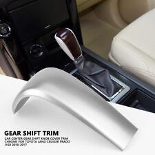 Chrome Gear Shift Knob Cover Trim For Toyota Land Cruiser Prado J150 2010-2017