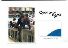James Bond Archives 2017 Relic Prop Card MR7 Palio De Siena Scarf #147/200