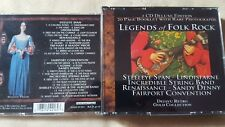 COMPILATION - LEGENDS OF FOLK ROCK (STEELEYE SPAN FAIRPORT CONVENTION). BOX 2 CD