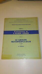 Connaissance de l'avion léger, livre V : le groupe motopropulseur - Hémond