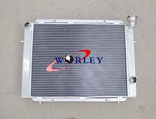 For Holden Commodore VB VC VH VK V6 Manual 56MM 3-ROW aluminum alloy radiator