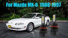 LED ForMazda MX-6 1988-1997 Headlight Kit 9004 HB1 6000K White Bulbs Hi-Low Beam
