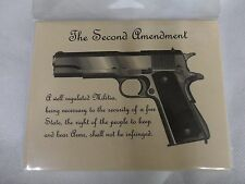 SECOND AMENDMENT COLT 1911 DESIGN BLANK NOTE CARDS 6 count NEW 2A GUN STATIONERY