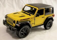 Kinsmart - 1:34 Scale Model 2018 Jeep Wrangler Rubicon Yellow (BBKT5412DY)