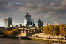 City of London Skyline Cityscape England Photograph Picture Print