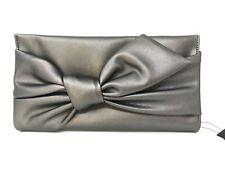 Inc International Concepts Women's Bowah Hands Through Party Clutch Bag Gray
