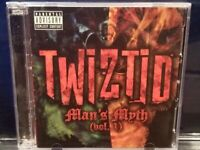Twiztid - Man's Myth CD / DVD insane clown posse esham lavel blaze ya dead homie