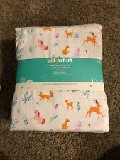 Pillowfort Full Size Forest Animals Cotton Sheet Set