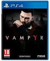 Vampyr For PS4 (New & Sealed)
