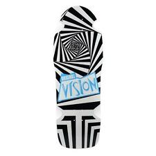 "Vision - Original Vision Black/White 10.0"" Resissue Skateboard Deck"