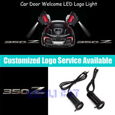 2PCS 350Z Logo Car Door Welcome Projector LED Light for NISSAN FAIRLADY Z33 350Z
