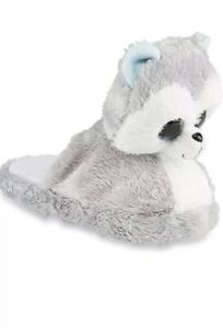 Ty Beanie Boos Baby Girl's Size 10-11 SLUSH the Dog Slippers New with Tags