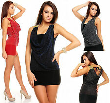 Unbranded Cowl Neck Stretch, Bodycon Dresses for Women