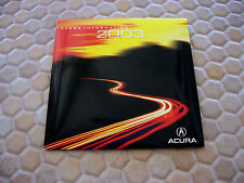 ACURA OFFICIAL NSX RL TL CL CLS MDX RSX RSXS PRESS KIT CD BROCHURE 2003 USA Ed