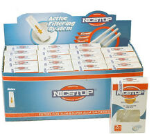 NICSTOP Slim & Super Slim Cigarette Filters 20 Packs (400 Filters)~Free Shipping