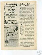 George Olsen Jane Pickens Jazz 1940's Original Ad