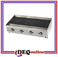 "Star 6048CBF Star-Max 48"" Heavy Duty Lava Rock Gas Char-Broiler"