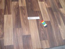 0417 PVC CV Belag Rest 153x498 cm Bodenbelag Nussbaum robuster Boden auf Vlies
