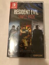 Resident Evil Triple Pack [ Resident Evil 4 + 5 + 6 ] (Nintendo Switch) NEW