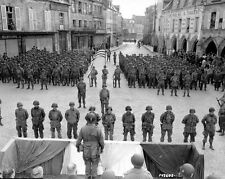 WWII Photo 101st Airborne Band of Brothers  Carentan  WW2 D-Day / 1061 8X10