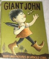 Vintage Giant John Arnold Lobel  Hardcover Early Reading Book HARPER & ROW