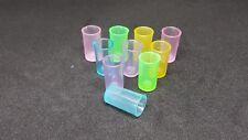 10 Pc/Set Plastic Glass Colour for Dollhouse Miniature