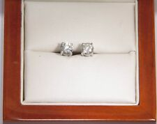Screw Back (pierced) Natural SI1 Fine Diamond Earrings