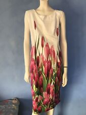 Designer floral tulip Dress, Daimaalva(women on top).EUR38.About a 10-12 fit.NWT
