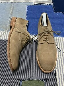 Walk-Over Vintage Collection ~ Suede Oxford Tan Size 10.5 Made In USA