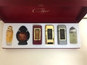 CARTIER Parfums Collection Luxury Gift Set 6 Miniatures New In Box RARE