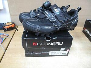 Louis Garneau Womens  X Size 40 Cycling Shoes W  clips size 8.5