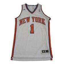 New NBA New York Knicks Amare Stoudemire #1 Swingman Jersey White Large STAINED