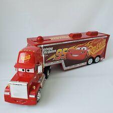 Disney Pixar Cars 3 Mack with Trailer Hauler 1/24 Jada Toys Die Cas Disney Store