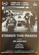 Affiche STRANGER THAN PARADISE John Lurie JIM JARMUSCH Eszter Balint 30x42cm