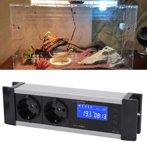 LCD PID Temperaturregler Thermo Thermostat für Aquarium Reptil Terrarium Neu♥