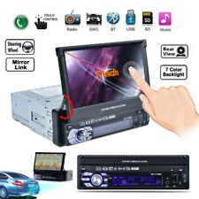 """7"""" Zoll 1DIN Touchscreen Bluetooth Car Stereo MP5 MP3 Player FM Radio USB/TF/AUX"""