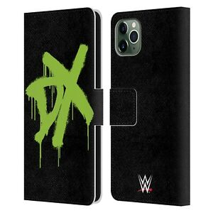 WWE D-GENERATION X LEATHER BOOK WALLET CASE COVER FOR APPLE iPHONE PHONES