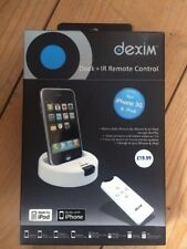 Dexim Dock + IR Remote Control  For iPhone 3G