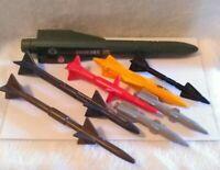 Vintage Hasbro GI Joe ARAH Vehicle/Aircraft Missile Lot