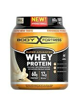 Body Fortress Super Advanced Whey Protein Gluten Free Vanilla 2 Pound Exp 5/2021